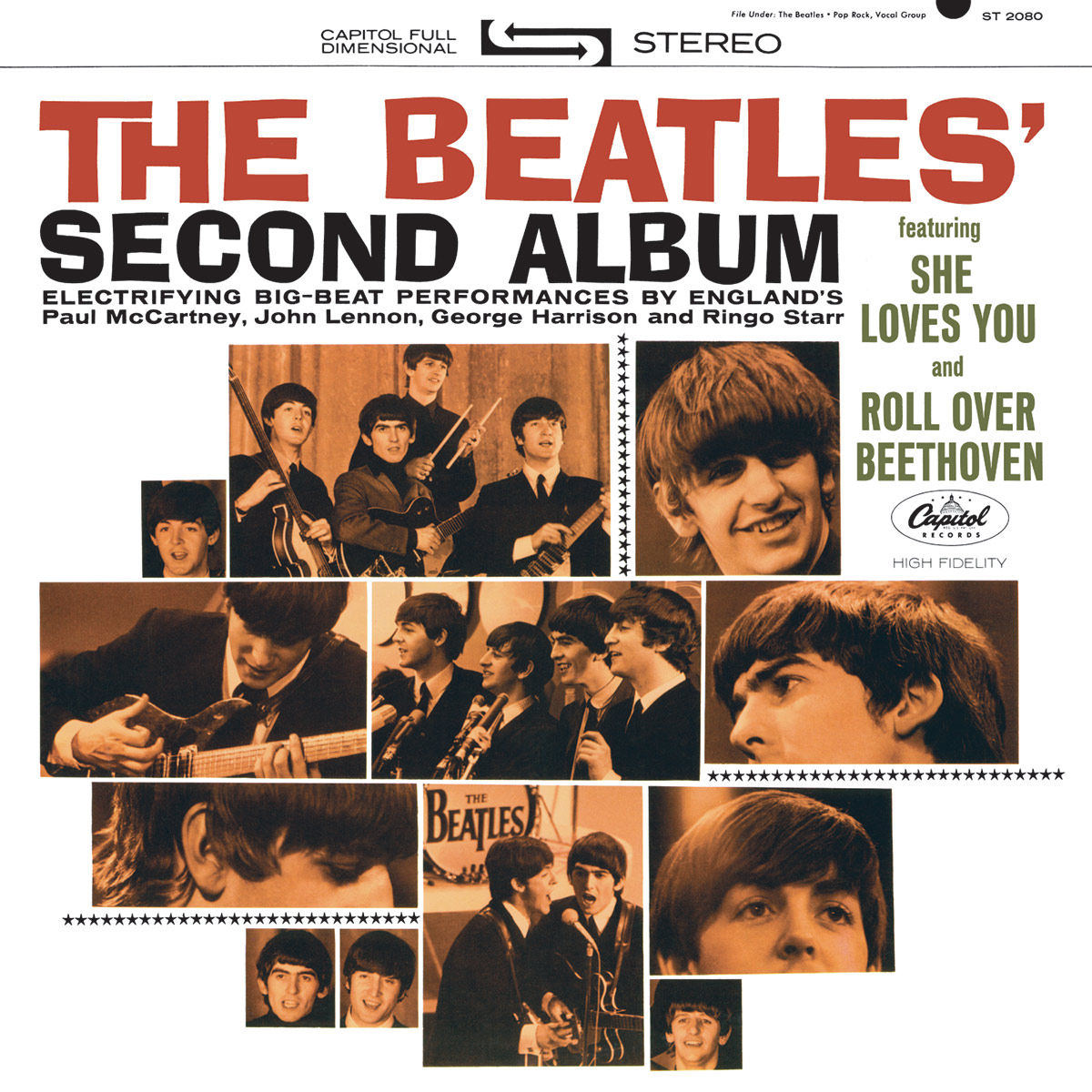 meet the beatles album images